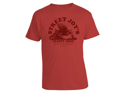 Street Joy's Sloppy Joes T - Vintage Red main photo