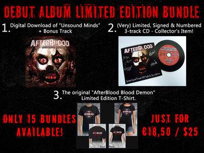 """Of Unsound Minds"" Limited Edition Bundle main photo"