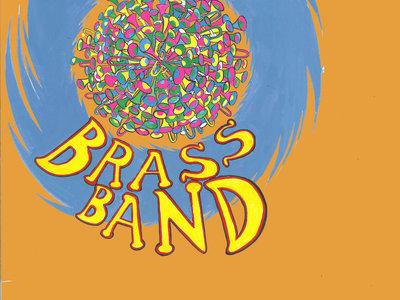 Cocek! Brass Band T-Shirt (Orange-Men's) main photo
