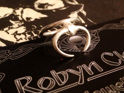 Robyn Chaos **Scarab** Sterling Silver Ring main photo