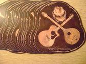 Folky Tonk sticker photo