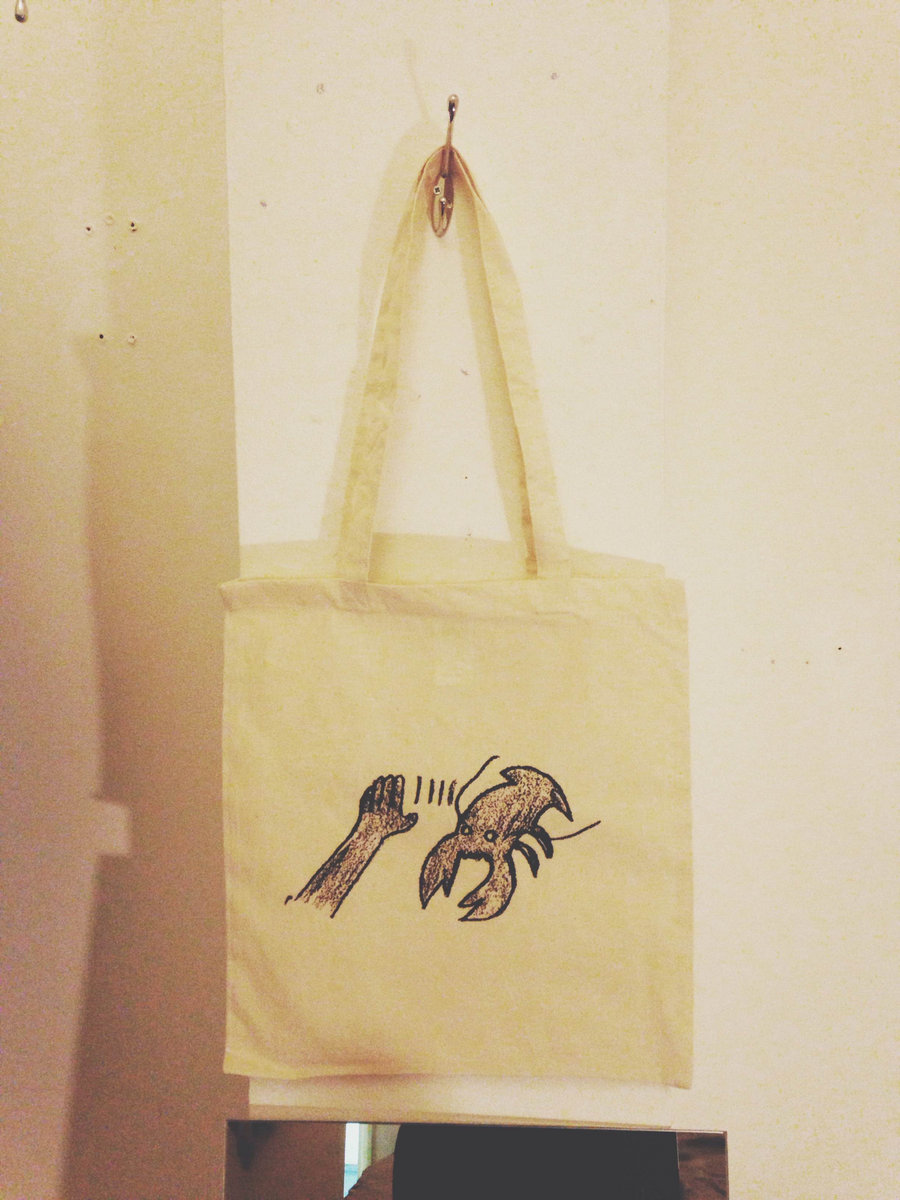 Lobster Theremin Tote Bag - Beige | Lobster Theremin