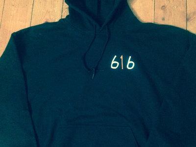 Cult Mountain 616 Hooded Sweatshirt. BLACK. main photo