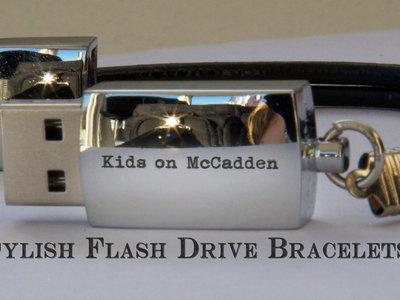 Kids on McCadden USB Bracelet ~! main photo