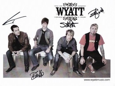 WYATT-   SIGNED Promo Photo 2015 main photo