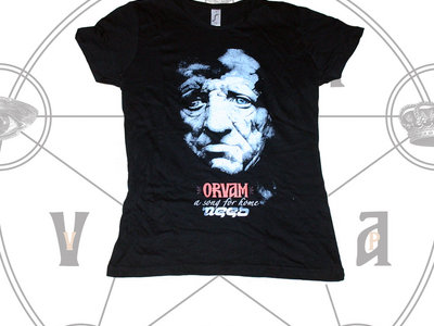 """Orvam:a song for home"" album cover girlie shirt main photo"