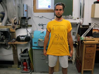 T-Shirt Arthur Comeau ¾ main photo