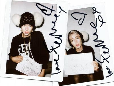 Autographed Personalised Polaroid main photo