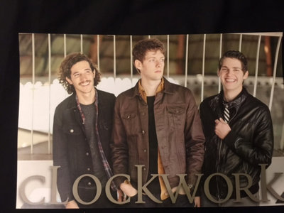 Clockwork Poster - Posed main photo