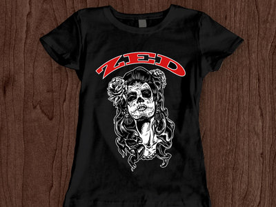 Ladies Muertos Two Tone T-Shirt main photo