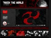 "DTRASH200 - D-TRASH Records ""Trash The World"" USB Key photo"
