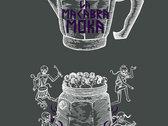 "T-Shirt ""Ammazzacaffè"" uomo White + Purple su carbone photo"
