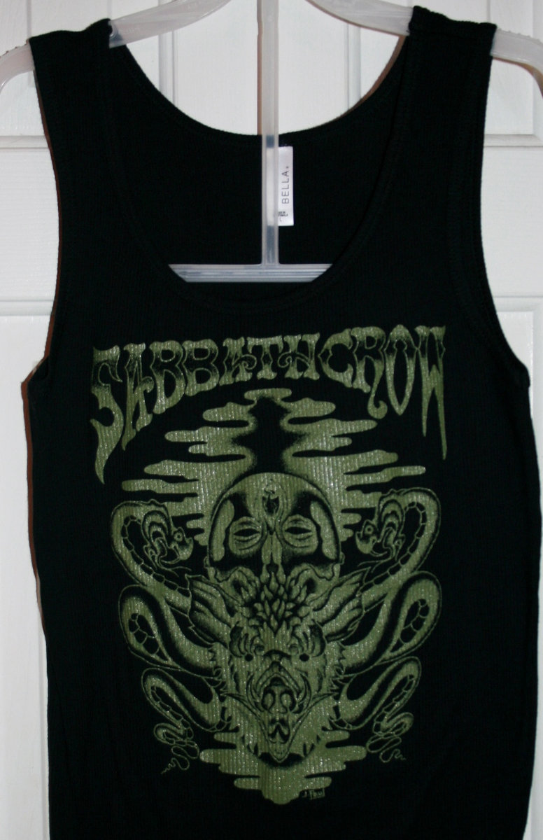 798abfac61ac8 ... Sabbath Crow wild pig snake vulture skull design ladies tees and tanks  photo ...