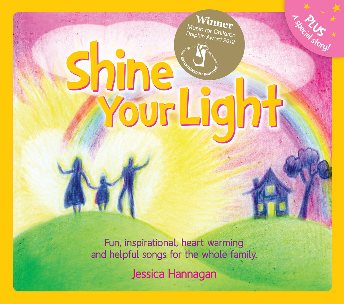Shine your light jessica hannagan shine your light award winning childrens cd 12 beautiful songs and a story hexwebz Gallery