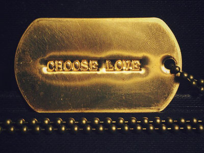 Polar Bear 'Choose Love' Dogtag main photo
