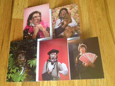 Sheila Saputo Greeting Card Set + 5 Album Download Cards main photo