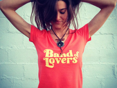 Band of Lovers Gals T - CORAL main photo