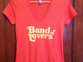 Band of Lovers Gals T - CORAL photo