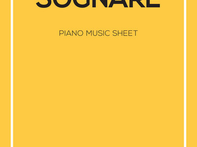 Sognare Sheet Music for Piano main photo