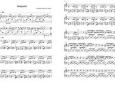 Sognare Sheet Music for Piano photo