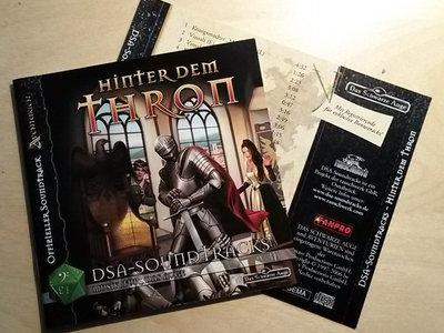 """Booklet und CD-inlay """"Hinter dem Thron"""" main photo"""