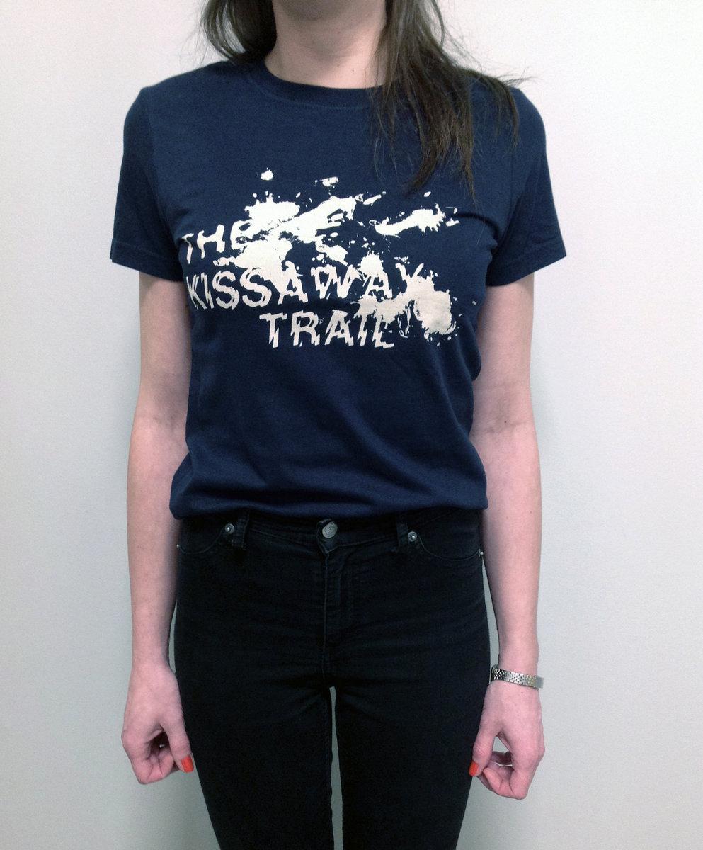 Splatter Print T Shirt