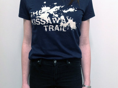 Splatter print T-shirt - Lady fit  ***FREE DELIVERY*** main photo