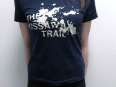 Splatter print T-shirt - Lady fit  ***FREE DELIVERY*** photo