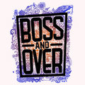 Boss and Over image