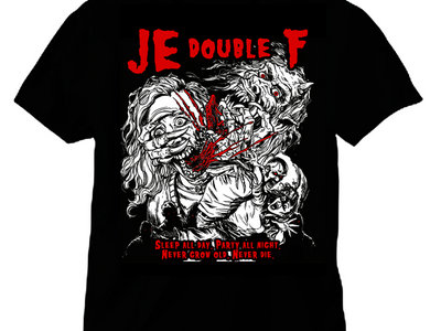 JE double F - 'SLEEP ALL DAY' SHIRT main photo
