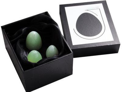 Jade Eggs In Presentation Box main photo
