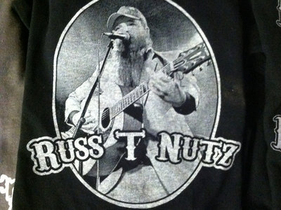 """Russ T Nutz """"Don't Give A Fuck"""" T-shirt main photo"""