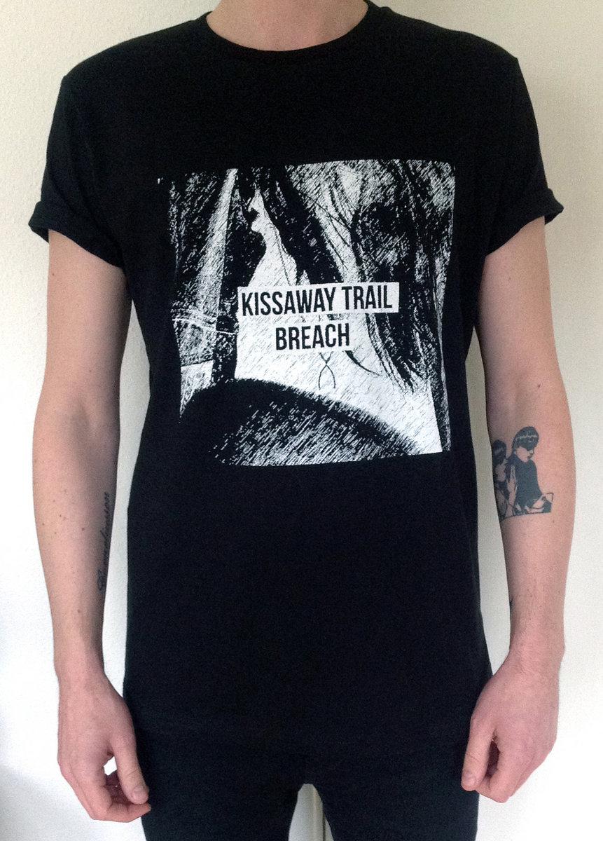Breach Black White T Shirt