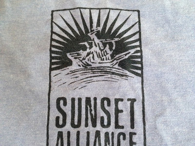 "Sunset Alliance ""Blue Ringer"" Logo shirt main photo"