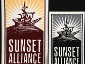 Sunset Alliance Merch | Player Piano Stickers photo