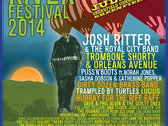 Green River Festival 2014 - Official Festival Poster w/ Artists photo