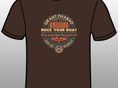 Rock Your Boat  (Paris DJs Wearplay chocolate t-shirt + download) main photo