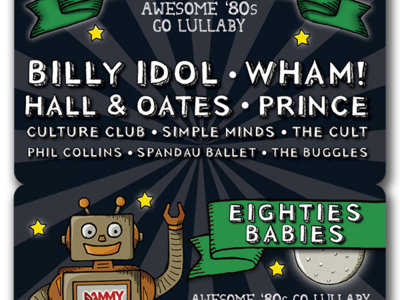 Eighties Babies: Awesome '80s Go Lullaby - Download Card main photo