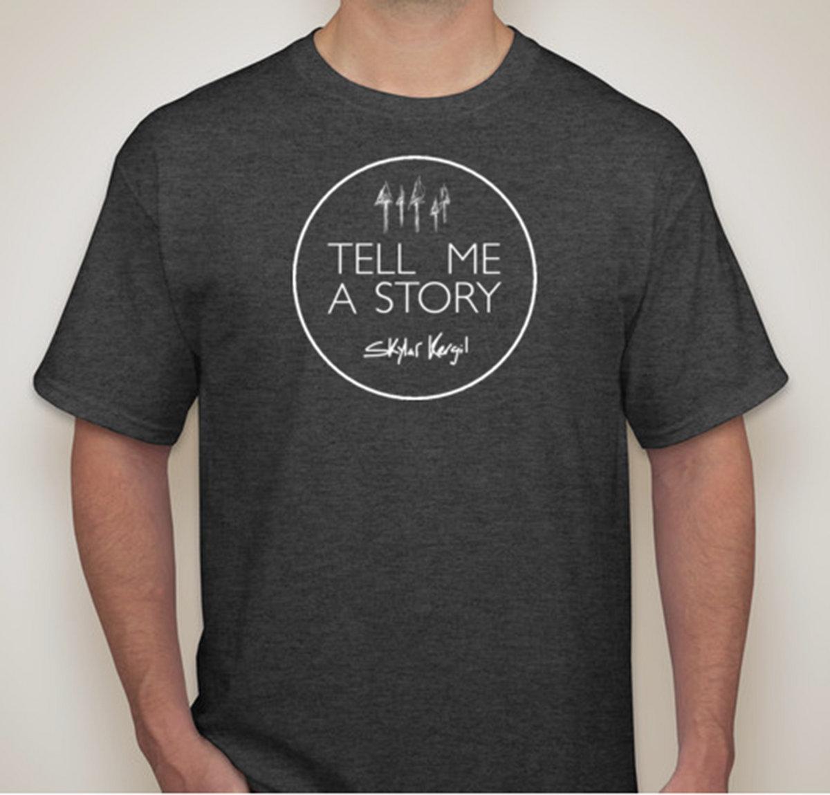 Tell Me A Story Circle Shirt Main Photo