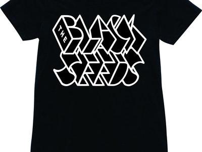 Box Design Ladies T'Shirt - Black main photo