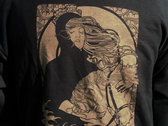 """Pull Over Hooded Sweatshirt- Oldest DC logo ever used with """"Spirited Migration"""" Art on the Back photo"""