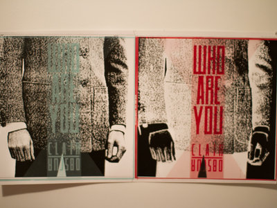 Who are you - clair/obscur - limited edition screen print main photo