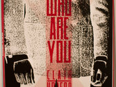 Who are you - clair/obscur - limited edition screen print photo