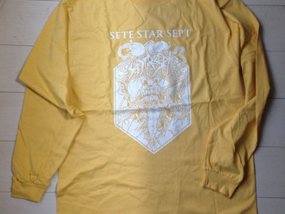 """Live In Baltimore 2011"" Long Sleeve - Yellow main photo"