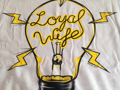 "Loyal Wife ""Light Bulb"" shirts (Men) main photo"