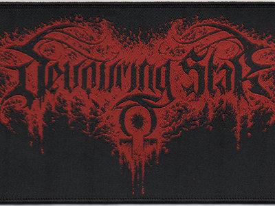 DEVOURING STAR - Logo woven patch main photo