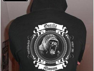 Gorilla hoodie jacket main photo