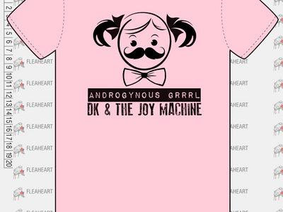 Androgynous Grrrrl T-shirt! main photo