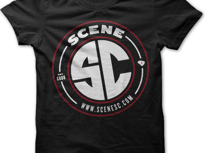Garnet and Black Scene SC Tee main photo