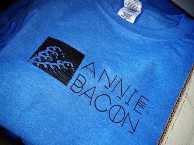 Heather Royal Blue Annie Bacon T-Shirts main photo